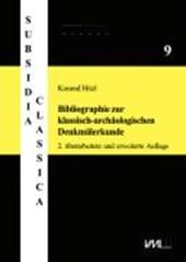 Bibliographie zur klassisch-archäologischen Denkmälerkunde