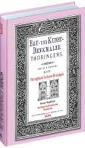 Bau- und Kunstdenkmäler Thüringens 06. Kreis Saalfeld - Amtsgerichtsbezirk SAALFELD