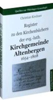 Register zu den Kirchenbüchern der evg.-luth. Kirchgemeinde Altenbergen 1654-1808
