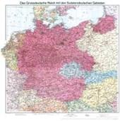 Historische Karte: Deutschland - Das Großdeutsche Reich mit dem Sudetendeutschen Gebieten, 1938 (plano)
