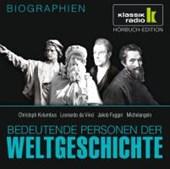 Bedeutende Personen der Weltgeschichte: Christoph Kolumbus / Leonardo da Vinci / Jakob Fugger / Michelangelo