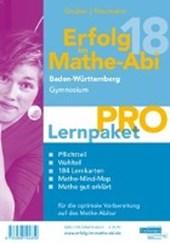 Erfolg im Mathe-Abi 2018 Lernpaket 'Pro' Baden-Württemberg Gymnasium