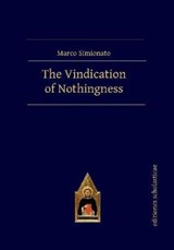 The Vindication of Nothingness | Marco Simionato |