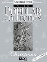 Popular Collection Christmas. Saxophone Tenor Solo | Arturo Himmer-Perez |
