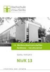 13. Nachwuchswissenschaftlerkonferenz mitteldeutscher Fachhochschulen, Hochschule Zittau/Görlitz, in Görlitz am 19. April 2012, Tagungsband