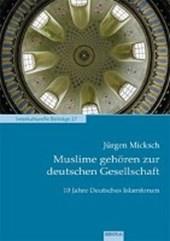 Muslime gehören zur deutschen Gesellschaft