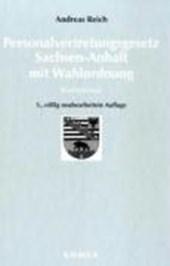 Personalvertretungsgesetz Sachsen-Anhalt. Kommentar