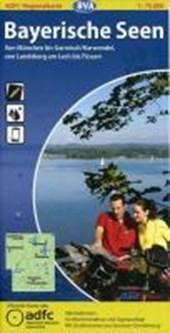 ADFC-Regionalkarte Bayerische Seen 1 :