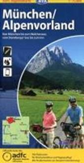 ADFC-Regionalkarte München / Alpenvorland 1 :