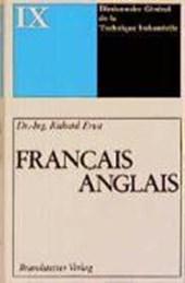 Wörterbuch der industriellen Technik 09. Francais - Anglais