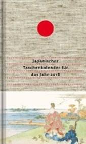 Japanischer Taschenkalender für das Jahr