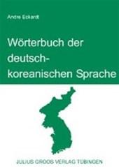 Wörterbuch der deutsch-koreanischen Sprache