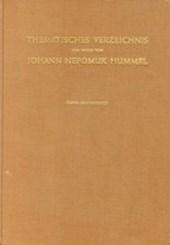 Thematisches Verzeichnis der Werke von Johann Nepumuk Hummel