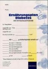 Ernährungsplan Diabetes mit KH-Austauschtabelle