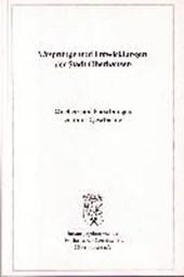 Ursprünge und Entwicklung der Stadt Oberhausen. Quellen und Forschungen zu ihrer Geschichte Bd.