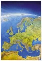 Das Große Europa-Panorama. Poster-Karte