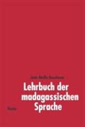 Lehrbuch der madagassischen Sprache