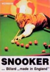 Snooker. Billard 'made in England'