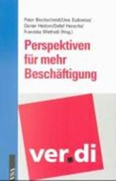 Ver.di: Perspektiven für mehr Beschäftigung