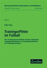 Trainingseffekte im Fussball | Katja Ferger |