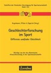 Geschlechterforschung im Sport
