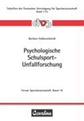 Psychologische Schulsport-Unfallforschung