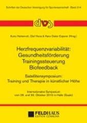 Herzfrequenzvariabilität: Gesundheitsförderung - Trainingssteuerung - Biofeedback