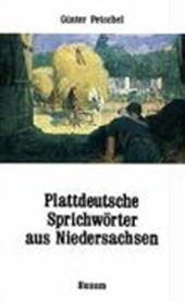 Plattdeutsche Sprichwörter aus Niedersachsen