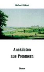 Anekdoten aus Pommern