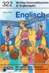 Englisch. Wichtige Grammatikbereiche. (2. Englischjahr)