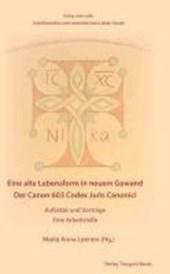Der Canon 603 Codex Juris Canonici