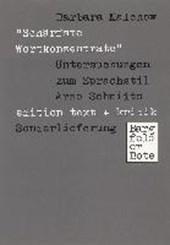 """""""Schärfste Wortkonzentrate"""""""