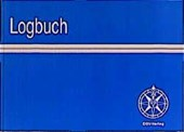 Logbuch mit Wetterkarten der Kreuzer-Abteilung des Deutschen Seglerverbandes