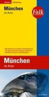Falk Stadtplan Falkfaltung München im Auto mit Ortsteilen von Dachau