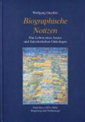 Biographische Notizen