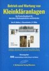 Betrieb und Wartung von Kleinkläranlagen