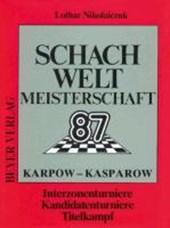 Schachweltmeisterschaft 1987 Karpow - Kasparow