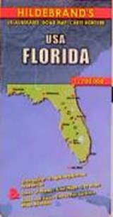 United States Florida 1 : 700 000. Hildebrand's Road Map | auteur onbekend |