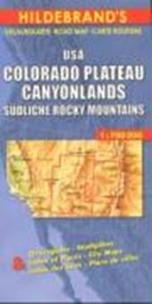 USA Colorado Plateau, Canyonlands, Südliche Rocky Mountains 1 : 700 000. Hildebrands Urlaubskarte