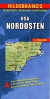USA Nordosten 1 : 700 000. Hildebrand's Urlaubskarte