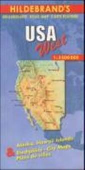 USA West 1 : 3 500 000. Hildebrand's Urlaubskarte