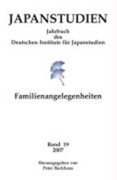 Japanstudien - Familienangelegenheiten