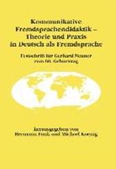 Kommunikative Fremdsprachendidaktik