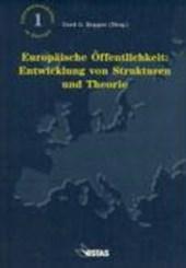 Europäische Öffentlichkeit: Entwicklung von Strukturen und Theorie