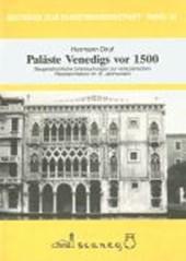 Paläste Venedigs vor
