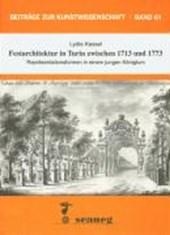 Festarchitektur in Turin zwischen 1713 und