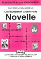 Literaturformen im Unterricht  Novelle