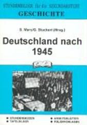 Geschichte. Deutschland nach
