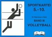 Sportkartei Band 3. 5.-10. Jahrgangsstufe