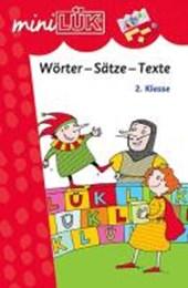 miniLÜK Wörter-Sätze-Texte. 2. Klasse